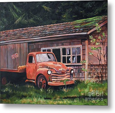 Left Behind Metal Print by Suzanne Schaefer