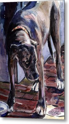 Legs Metal Print by Molly Poole