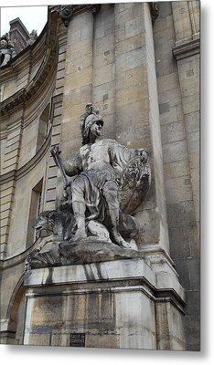 Les Invalides - Paris France - 01137 Metal Print by DC Photographer
