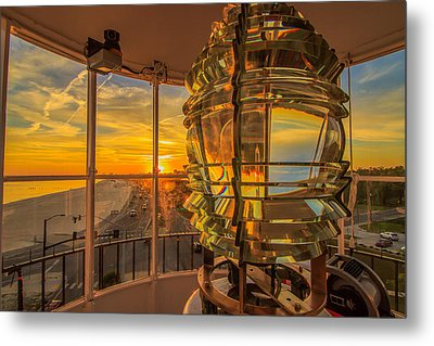 Lighting The Way Metal Print by Brian Wright