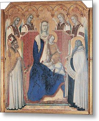 Lorenzetti Pietro, Carmine Altarpiece Metal Print by Everett