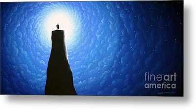 Love Will Show You The Light Metal Print
