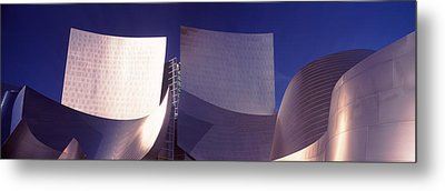 Low Angle View Of A Concert Hall, Walt Metal Print by Panoramic Images