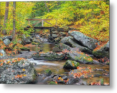 Metal Print featuring the photograph Macedonia Brook by Bill Wakeley