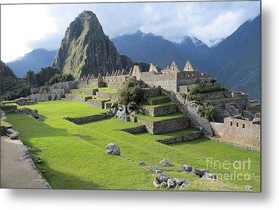 Machu Picchu Metal Print