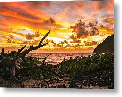 Makapuu Sunrise 4 Metal Print