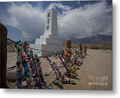 Manzanar War Relocation Center Metal Print