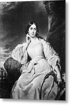 Maria Malibran (1808-1836) Metal Print