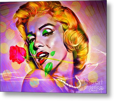 Marilyn Monroe Metal Print by Eleni Mac Synodinos