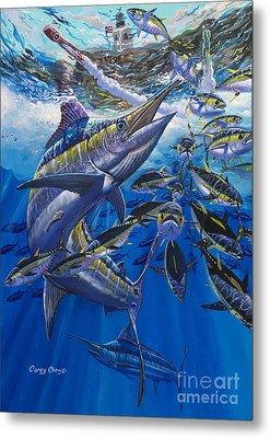Marlin El Morro Metal Print by Carey Chen