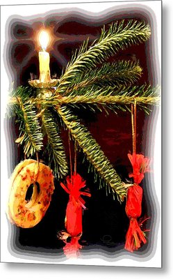 Metal Print featuring the photograph Memories Of A Christmas Past by Ludwig Keck