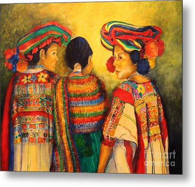 Mexican Impression Metal Print by Dagmar Helbig