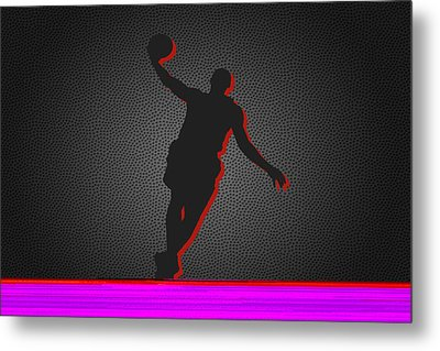 Miami Heat Metal Print by Joe Hamilton