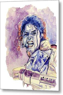 Michael Jackson Metal Print by Bekim Art