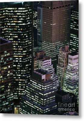 Midtown Manhattan Metal Print by Rafael Macia