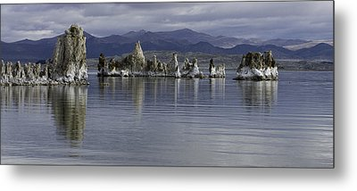 Metal Print featuring the photograph Mono Lake by Betty Depee