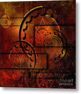 More Than Reality Metal Print by Franziskus Pfleghart