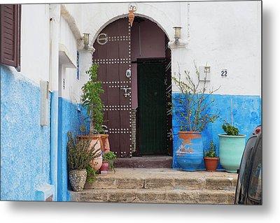 Morocco, Rabat, Sale, Kasbah Des Metal Print