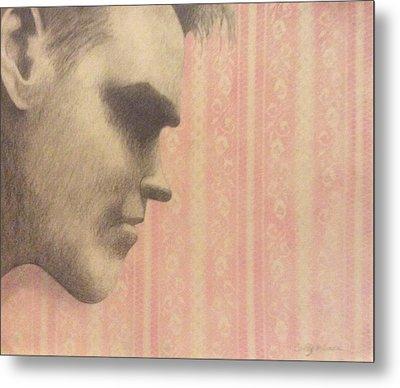 Morrissey Metal Print by Cynthia Hilliard
