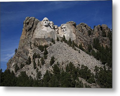Mount Rushmore Metal Print by Frank Romeo