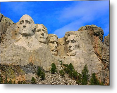 Mount Rushmore South Dakota Metal Print