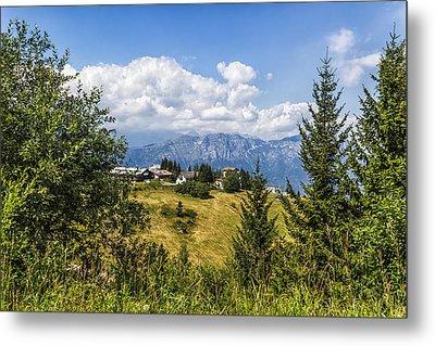 Mountain Panorama. Italy Metal Print