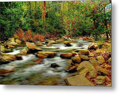 Metal Print featuring the photograph Mountain Stream by Ed Roberts