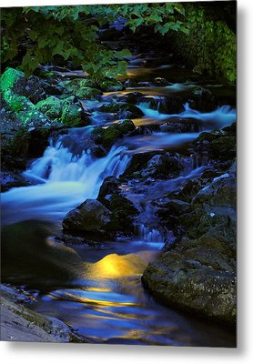 Mountain Stream Metal Print by Frozen in Time Fine Art Photography