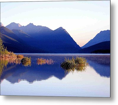 Mountain Sunrise Metal Print by Gerry Bates