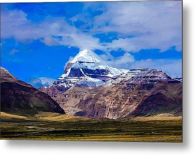 Mt Kailash. Metal Print by Kirill Kamionsky