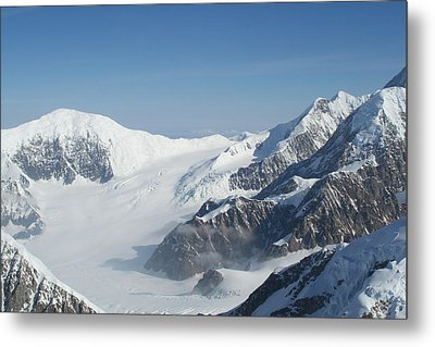 Mt Mckinley Metal Print by Dick Willis
