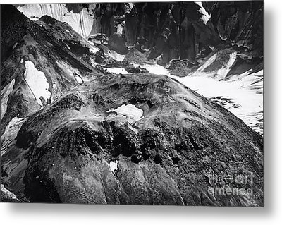 Metal Print featuring the photograph Mt St. Helen's Crater by David Millenheft