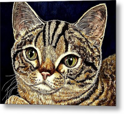 Muffin Metal Print by Sherry Dole