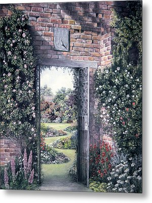 My Secret Garden Metal Print
