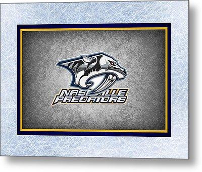 Nashville Predators Metal Print by Joe Hamilton