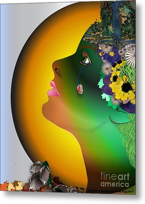 Natures Weary Metal Print by Brittany Perez
