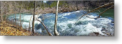 Metal Print featuring the photograph Nemo Rapids by Paul Mashburn