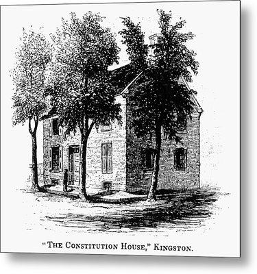 New York Senate, 1777 Metal Print