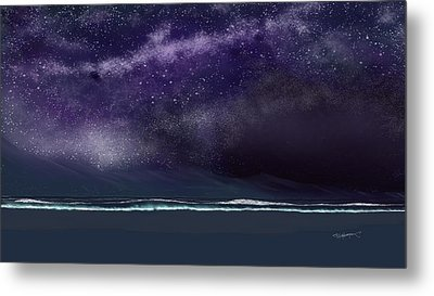 Metal Print featuring the digital art Night Of A Thousand Stars by Anthony Fishburne
