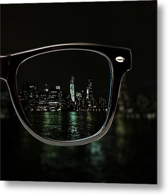 Night Vision Metal Print by Natasha Marco