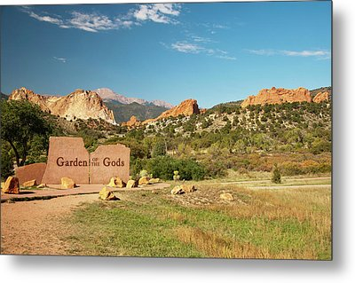 North America, Usa, Colorado, Springs Metal Print by Patrick J. Wall