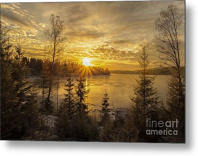 Metal Print featuring the photograph Norway by Rose-Maries Pictures