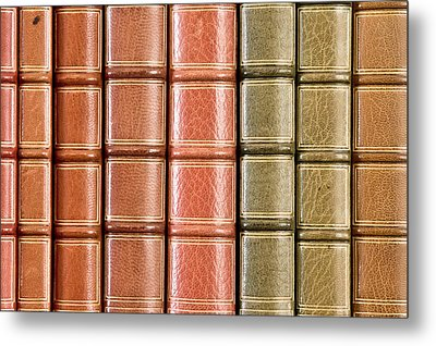 Old Books Metal Print by Tom Gowanlock