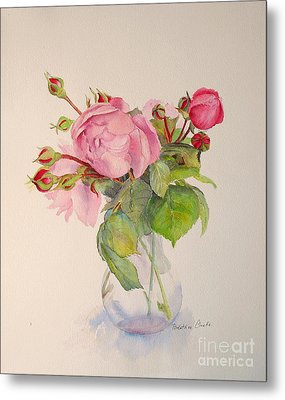 Old Roses Metal Print by Beatrice Cloake