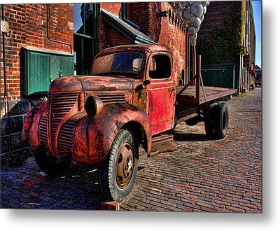 Old Rusty Metal Print by Nicky Jameson