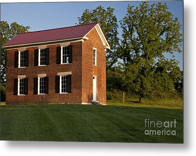 Old Schoolhouse Metal Print by Brian Jannsen