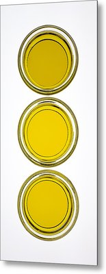 Olive Oil Metal Print by Frank Tschakert