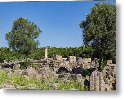 Olympia, Peloponnese, Greece. Ancient Metal Print