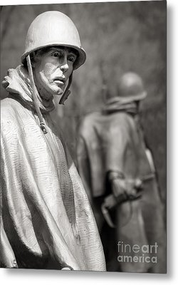 In Our Nation's Service Metal Print