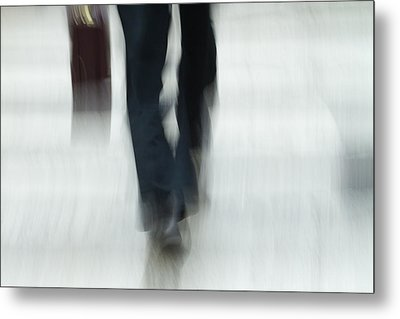 On The Go Metal Print by Karol Livote